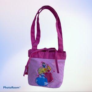 Disney Princess Forever Pink Canvas Purse, Bag